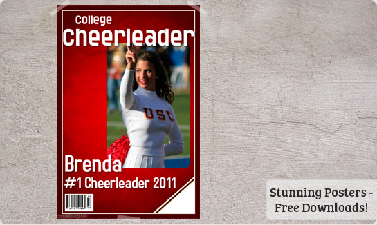 cheerleading posters picture