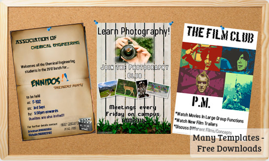 College Club Flyers Templates Downloads – Club Flyer Maker