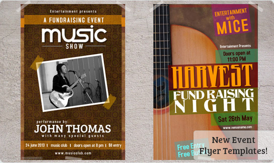 Concert Flyers Templates Downloads Prints – Event Templates Free