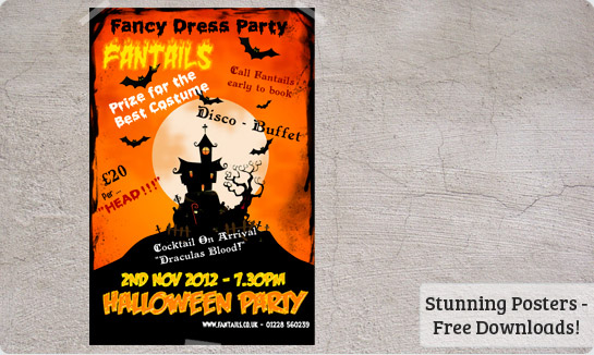 Halloween Posters Templates Free Downloads – Fun Poster Templates
