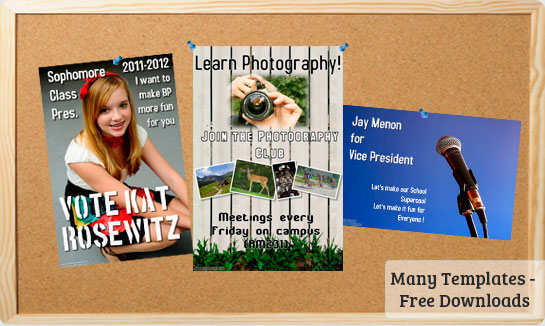 School Posters Templates Free Downloads – Fun Poster Templates