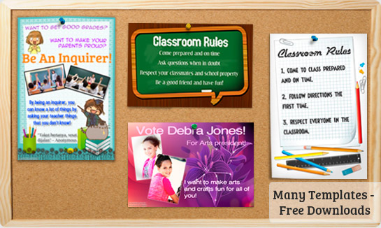 classroom posters picture