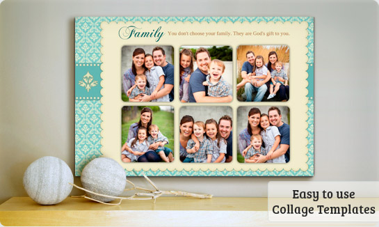 Family Portrait Templates - Mounts & Frames | PosterMyWall