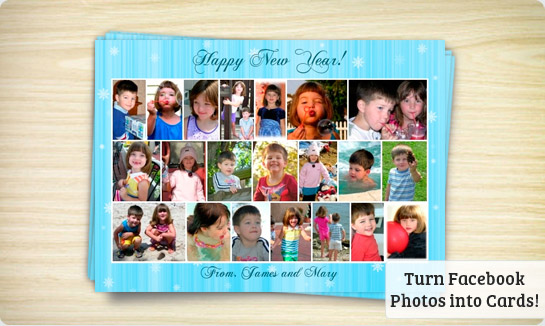 holiday photo card picture