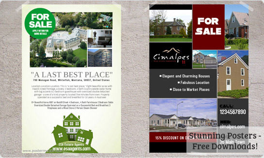 ArpaBlogS REAL ESTATE FLYER - Free real estate flyer templates download
